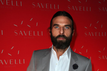 John Nollet  Arrivals at the Savelli Party in Paris