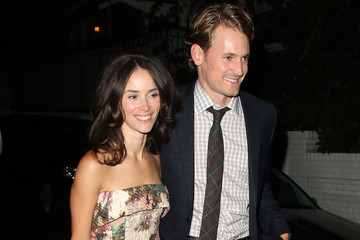Josh Pence Abigail Spencer Leaves Chateau Marmont