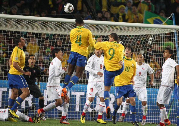 Chile vs Brazil at the World Cup