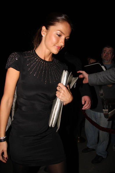 Minka Kelly Minka Kelly attends a pre Golden Globe party at the Buffalo Club