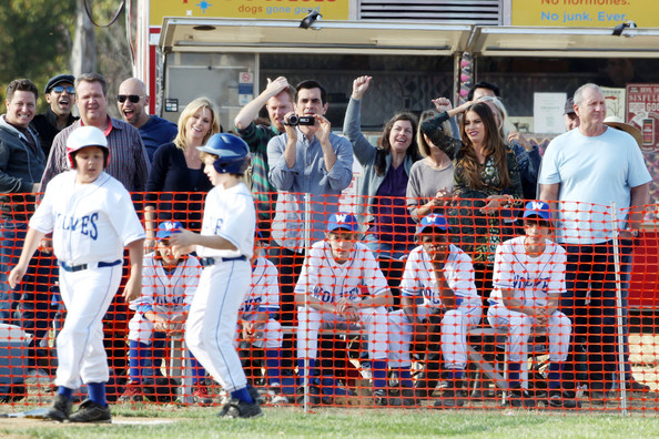 The Cast of 'Modern Family' Film a Baseball Game