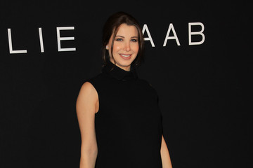 Nancy Ajram Celebs at the Elie Saab Haute Couture Show