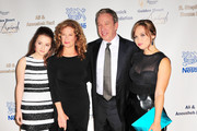 Kaitlyn Dever, Nancy Travis, Tim Allen and Amanda Fuller at the Midnight Mission Golden Heart Awards 2013 at the Beverly Wilshire Four Seasons Hotel in Beverly Hills.