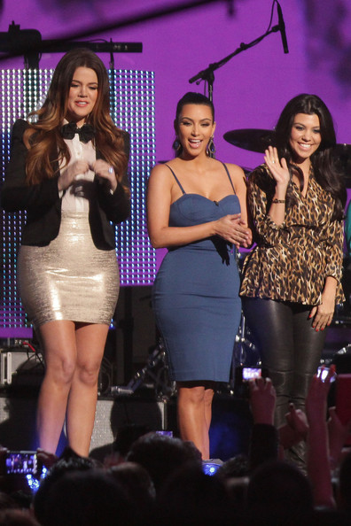 The Kardashian Sisters At The Demi Lovato Show
