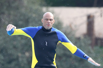 Kareem Abdul Jabar Celebs Films 'Celebrity Diving'