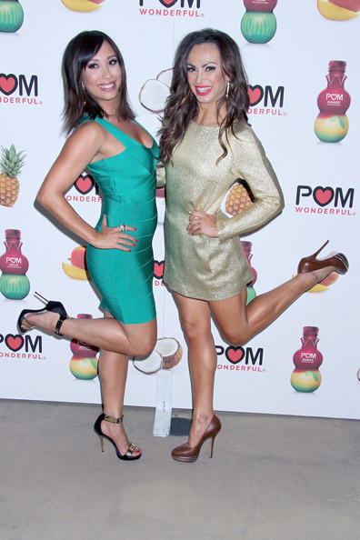 Celebs at a POM Wonderful's Event