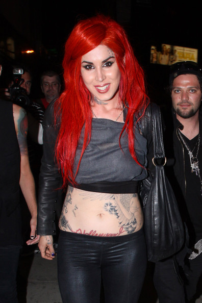 Kat Von D And Bam Margera Photos Photos Kat Von D And Bam Margera