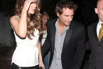 Kate Beckinsale Len Wiseman Star of the soon to be released remake of 'Total Recall' Kate Beckinsale celebrates her 39th birthday with a family night out at the Little Door restaurant with her husband Len Wiseman and daughter Lily Mo Sheen in Los Angeles