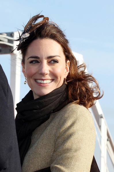"Kate Middleton Prince William and Kate Middleton dedicate a lifeboat in their first official appearance together, since the announcement of their engagement. The 29 year old princess-to-be opened a bottle of champagne over the lifeboat during the Naming Ceremony and Service of Dedication of the Atlantic 85 Lifeboat 'Hereford Endeavor' at Trearddur Bay. A crowd of people gathered, as excitement continues growing over the upcoming royal wedding set for April 29th. William, 28, and Kate sang the British Welsh national anthems, ""God Save the Queen"" and ""Hen Wlad Fy Nhadau."