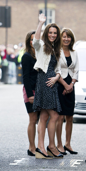 Kate+Middleton in Kate Middleton Arrives at Westminster Abbey the Night Before the Wedding