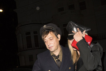 Kate Moss Kate Moss and Jamie Hince Together in London