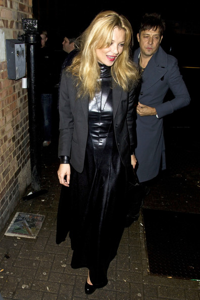 Kate Moss Kate Moss arrives with Jamie Hince at the NME Awards in the Brixton Academy..