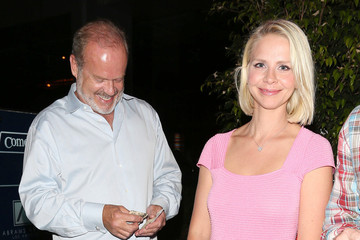 Kayte Grammer Kelsey Grammer Takes His Wife Out to Dinner
