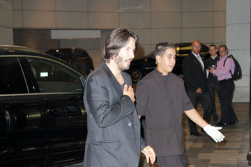 Keanu Reeves Celebs Spotted at the Trump Hotel