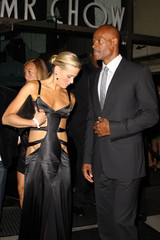 Keenan Ivory Wayans Keenan Ivory Wayans and Brittany Daniel Outside Mr Chows