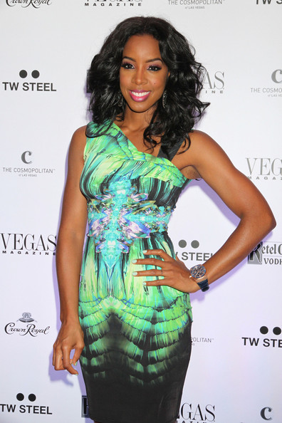 Kelly Rowland - Celebs at 'Vegas' Magazine's Anniversary Party