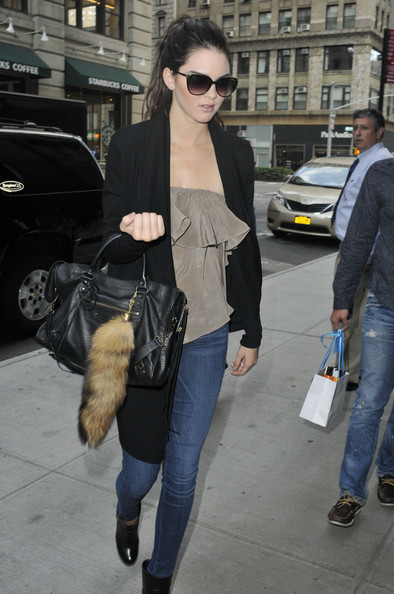Kendall Jenner Model Kendall Jenner is spotted returning to her apartment in NYC. Kendall, sister of the Kardashians, recently made her runway debut during NYC Fashion Week.