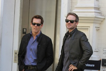 Kevin Bacon Shawn Ashmore 'The Following' Films in NYC