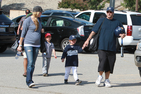 Kevin James And Family...