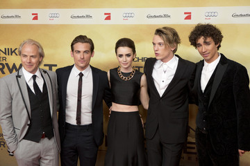 Kevin Zegers Lily Collins 'The Mortal Instruments: City of Bones' Premieres in Berlin