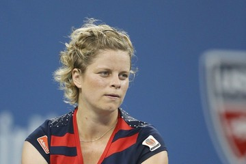 Kim Clijsters Celebs at the US Open
