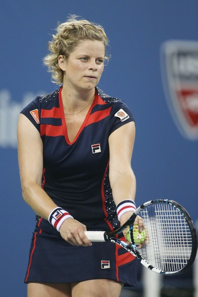 Kim Clijsters - Celebs at the US Open