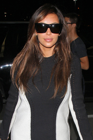 9064530e727c Reality star and fashion icon Kim Kardashian seen arriving in style to LAX  Los Angeles Airport