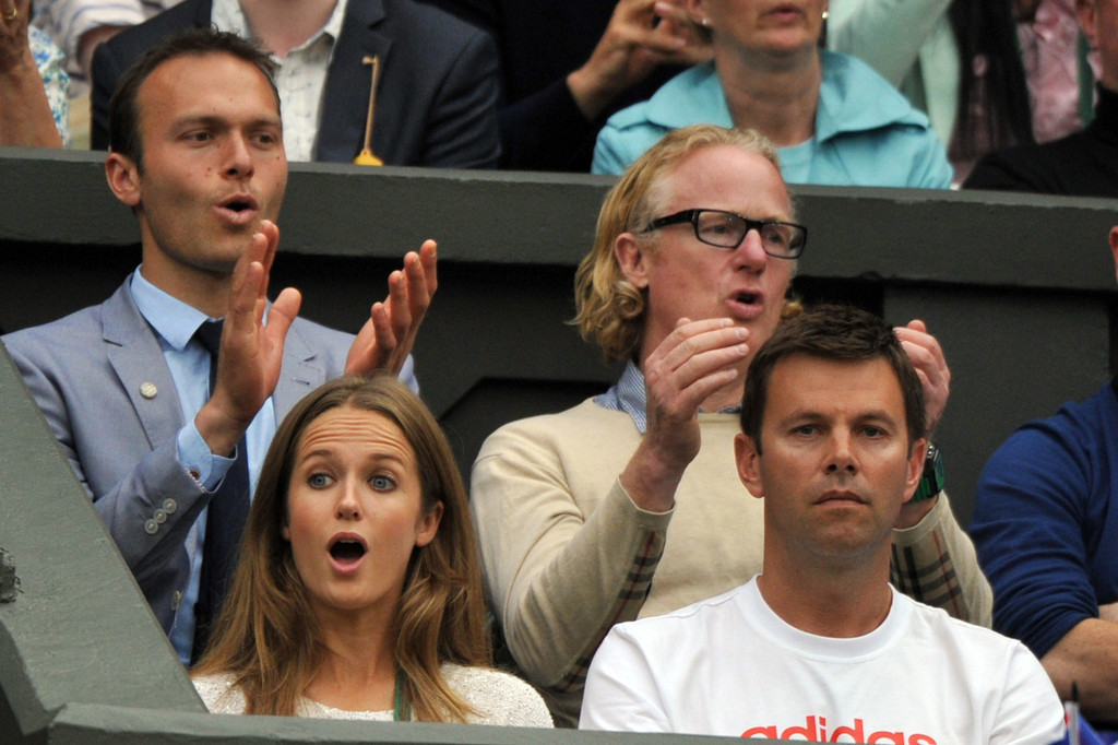Kim+Sears+Andy+Murray+v+Tommy+Robredo+FA