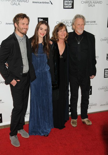 Kris kristofferson and jesse kristofferson photos photos zimbio celebs at the chaplin award gala altavistaventures Images