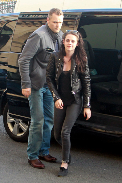 Kristen Stewart in Leather Pants