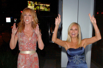 Kristin Chenoweth Kathy Griffin Kristin Chenoweth and Kathy Griffin at BOA Steakhouse in West Hollywood
