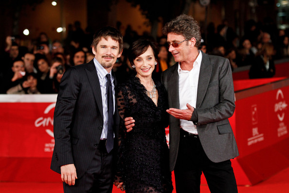 """Ethan Hawke attends the premiere of his upcoming film """"The Woman in the Fifth"""" during the 2011 International Rome Film Festival"""