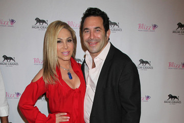 Adrienne Maloof Dr. Paul Nassif Reality Stars at the Opening of Blizz Frozen Yogurt in