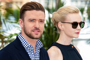 Justin Timberlake and Carey Mulligan attend 'Inside Llewyn Davis' photocall at the 66th Cannes Film Festival, in Cannes, France.