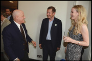 Ronald O. Perelman and Nat Rothschild attend the National Youth Orchestra of The United States of America Reception at the The Royal Albert Hall hosted by Ronald O. Perelman in London.