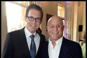 Ronald O. Perelman with Kyle MacLachlan attend the National Youth Orchestra of The United States of America Reception at the The Royal Albert Hall hosted by Ronald O. Perelman in London.