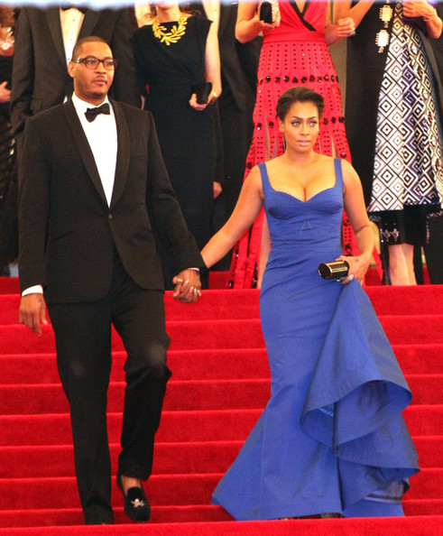 La la anthony photos photos lala anthony and carmelo anthony on lala anthony and carmelo anthony on the red carpet at the met freerunsca Images