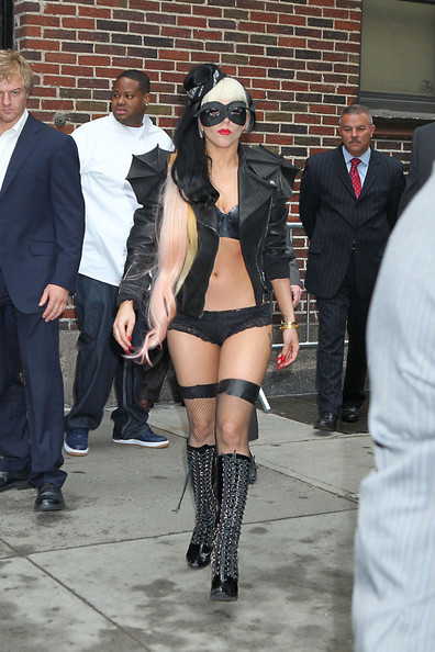 """Lady Gaga at the """"Late Show with David Letterman"""" in New York City 4"""