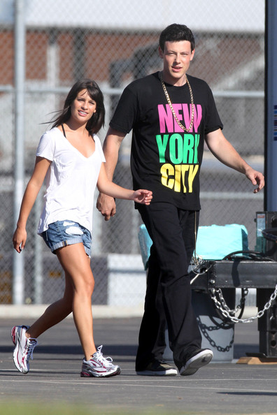Cory monteith lea michele dating 2010