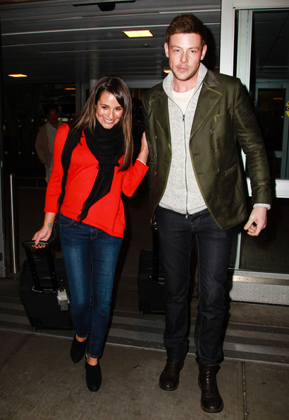 lea michele and cory monteith dating 2011 The past few months have been a struggle for lea michele, whose boyfriend and glee co-star cory monteith died in july while her character said goodbye to him in a touching tribute episode of glee, the 27-year-old actress herself is having a.