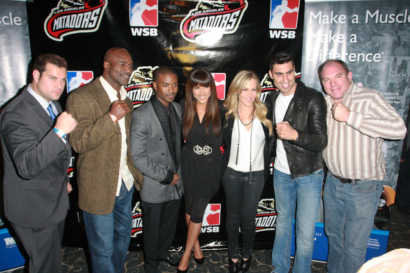 Celebs Out at LA Matador's Fight Night