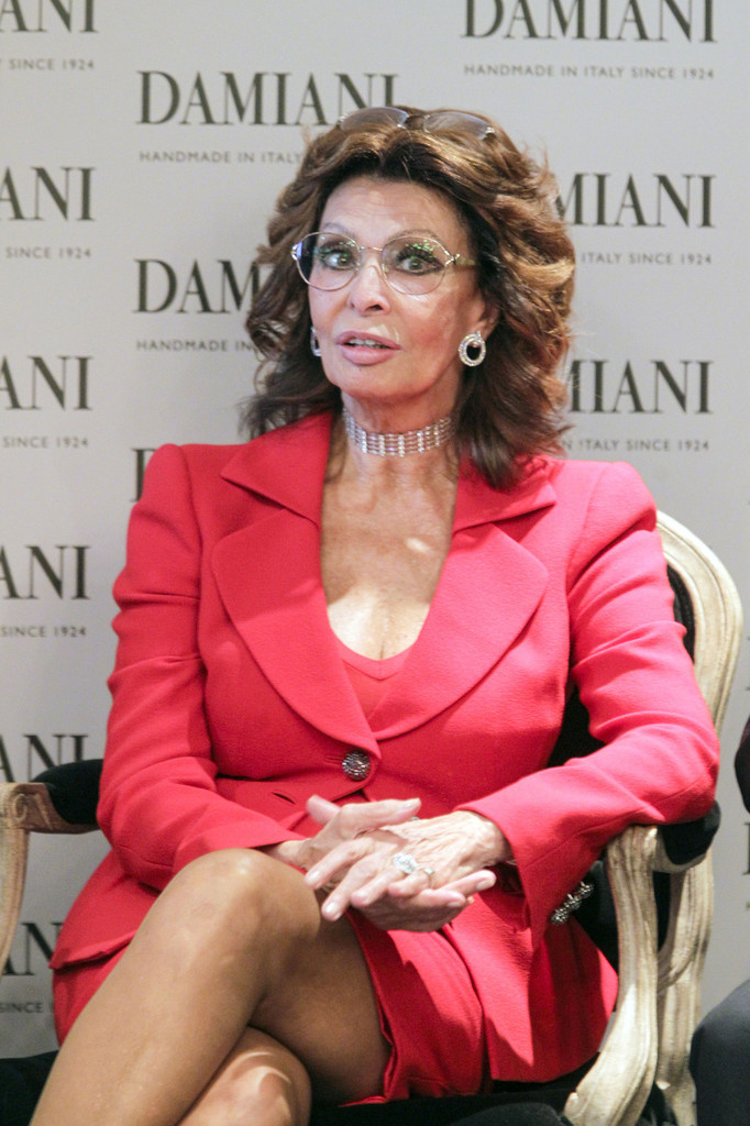 Sophia Loren Photos Photos Sophia Loren At The Damiani