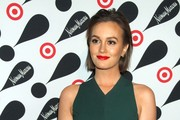 Leighton Meester attending the Target + Neiman Marcus Holiday Collection launch in New York City.