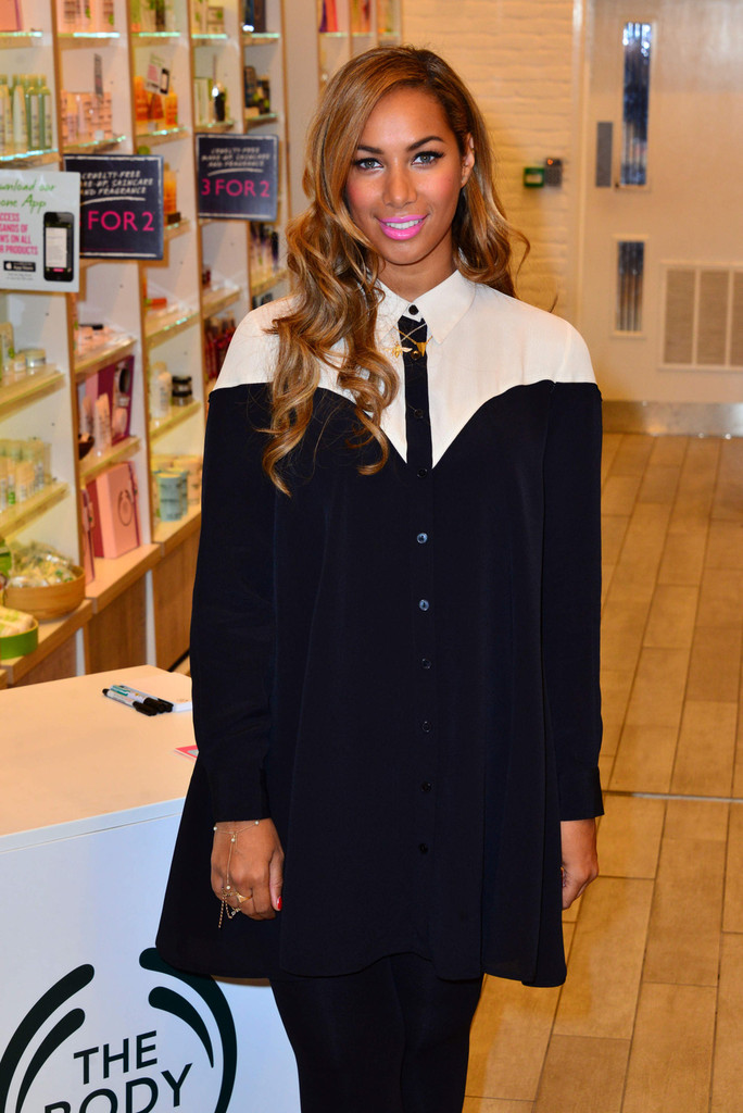 Leona Lewis - Leona Lewis Launches Her Own Beauty Line