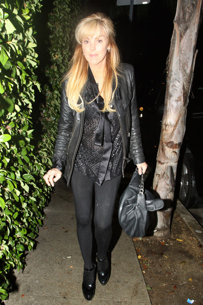 Lindsay Lohan at Church Clothing Store (Dina Lohan
