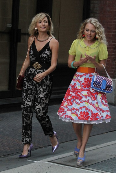 lindsey gort pictures the carrie diaries films in nyc