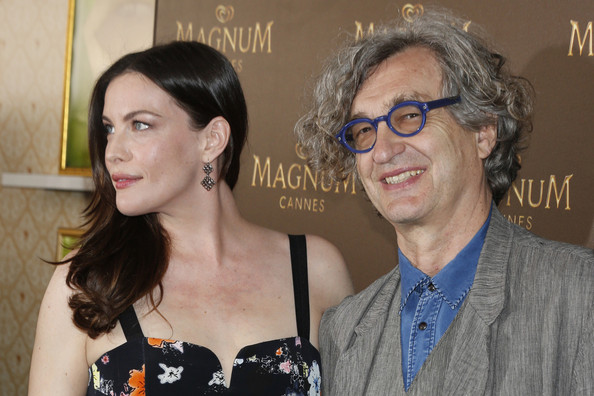 Photo of Wim Wenders & his friend  Liv Tyler