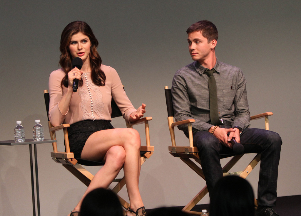 logan lerman in logan lerman and alexandra daddario