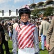 Lucy Henman Celebrities at the Ladies Day at the Glorious Goodwood Event
