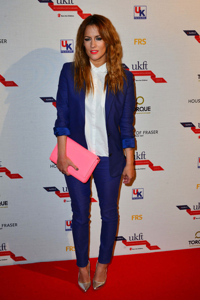 Arrivals at the NatWest UK Fashion and Textile Awards
